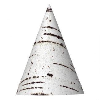 Chapéu De Festa Teste padrão do latido de vidoeiro