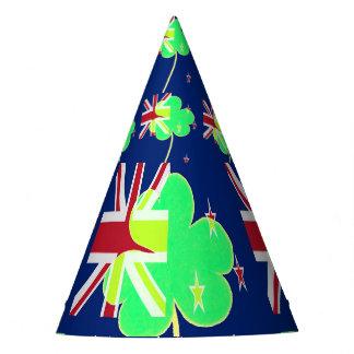 Chapéu De Festa Trevo St Patrick do trevo da bandeira de Nova