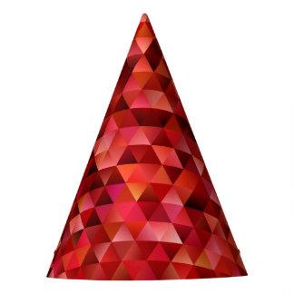 Chapéu De Festa Triângulos sangrentos