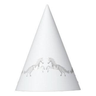 Chapéu De Festa Unicórnio do branco da ilustração