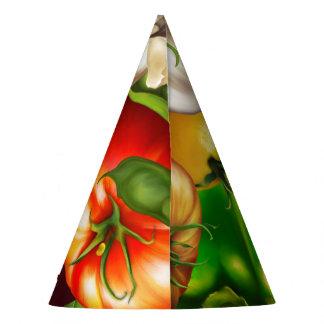 Chapéu De Festa Vegetais e comida natural orgânica dos