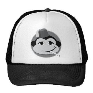 chapéu de fumo do camionista do macaco boné