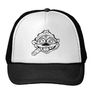 Chapéu de fumo do macaco do charuto boné