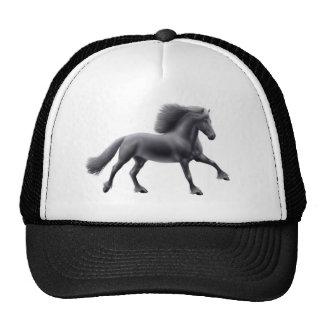 Chapéu de galope da malha do cavalo do frisão boné