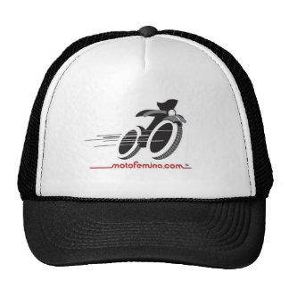 Chapéu de MotoFemina Boné