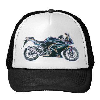 Chapéu de néon da motocicleta da bicicleta do espo boné