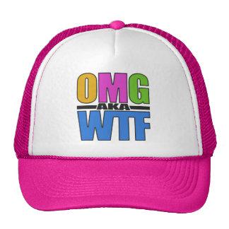 Chapéu de OMG aka WTF - escolha a cor Boné