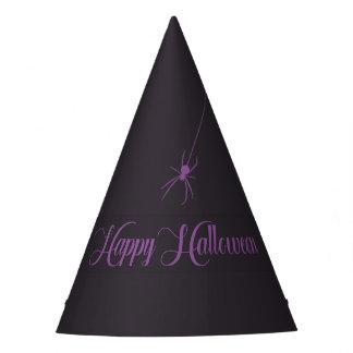 Chapéu de papel feliz elegante do Dia das Bruxas