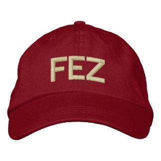 Chapéu de Shriner FEZ Boné Bordado