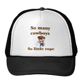 Chapéu de tão muitos vaqueiros boné