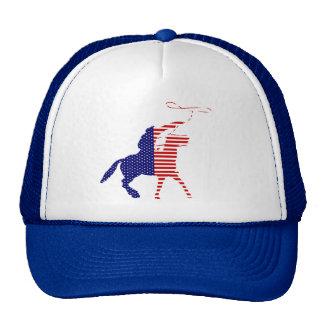 Chapéu de vaqueiro americano bonés