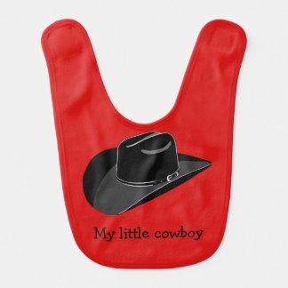 Chapéu de vaqueiro babadores infantis
