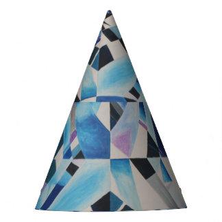 Chapéu de vidro do partido do diamante