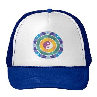 Chapéu de Yin e de Yang Boné