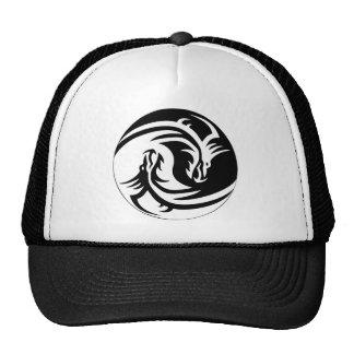 Chapéu de Yin Yang do dragão Bones
