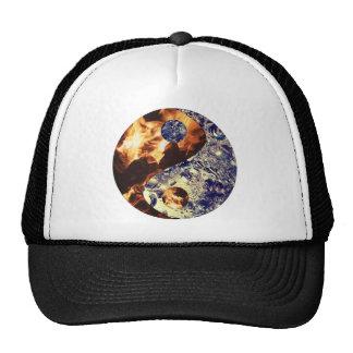Chapéu de Yin Yang do fogo & do gelo Boné