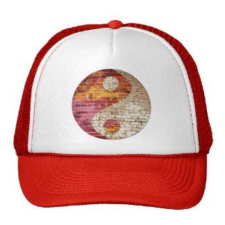 Chapéu de Yin Yang do tijolo Boné