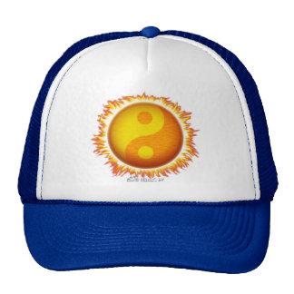 Chapéu de Yin/Yang Sun Bone