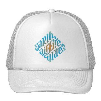 chapéu Diamante-Azul do illuminati Boné