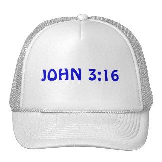 Chapéu do 3:16 de John Bonés