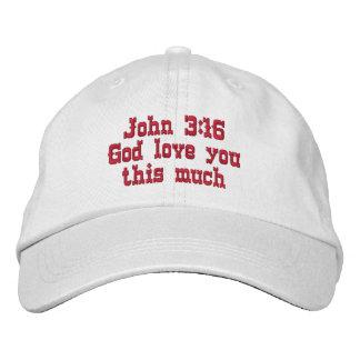 Chapéu do 3:16 de John Boné