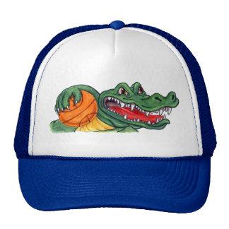 Chapéu do basquetebol do jacaré boné