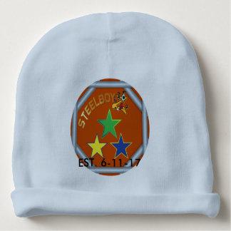 Chapéu do beanie do bebê do logotipo do costume gorro para bebê