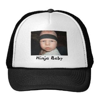 Chapéu do bebê de Ninja Boné