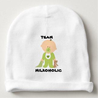 Chapéu do bebê, design do menino de Milkoholic da Gorro Para Bebê