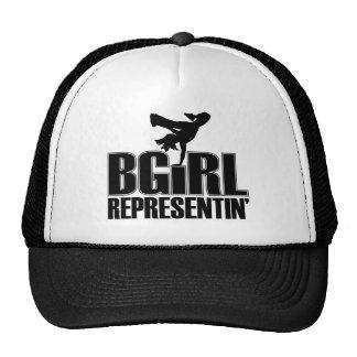 Chapéu do BGirl Bones