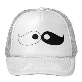 Chapéu do bigode de Yin Yang do hipster Boné