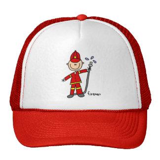 Chapéu do bombeiro boné