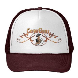 Chapéu do boné da vaqueira