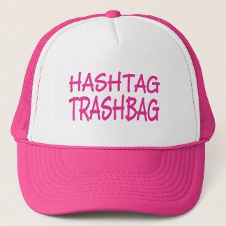Chapéu do boné de Hashtag Trashbag dos sentimentos