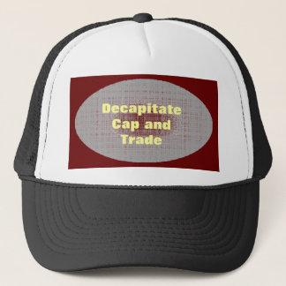 Chapéu do boné e do comércio