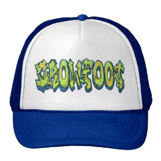 Chapéu do camionista, aranha do estilo dos boné