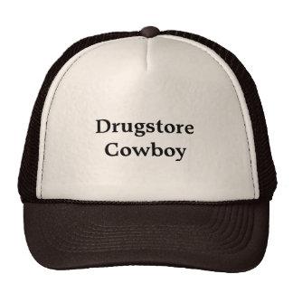 """Chapéu do camionista com da """"o vaqueiro drograria boné"""