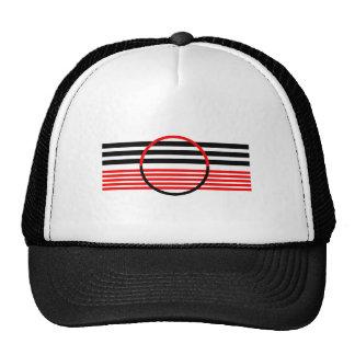 Chapéu do camionista com design retro boné