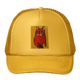 Chapéu do camionista com gato legal boné
