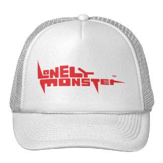 Chapéu do camionista com logotipo vermelho boné