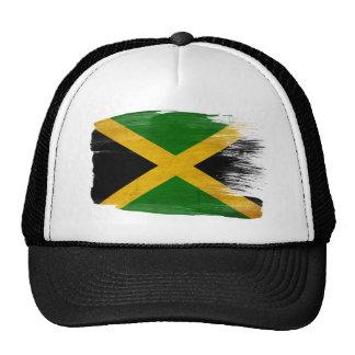 Chapéu do camionista da bandeira de Jamaica Bonés