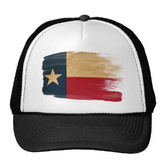 Chapéu do camionista da bandeira de Texas Bonés