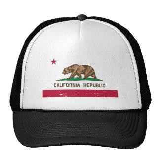 Chapéu do camionista da bandeira do estado da boné