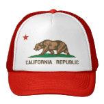 Chapéu do camionista da bandeira do estado de Cali Bone