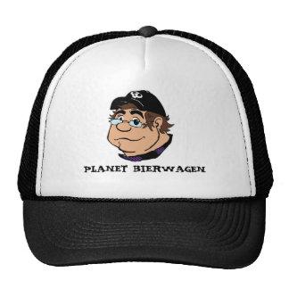 Chapéu do camionista da caricatura do PLANETA BIER Boné