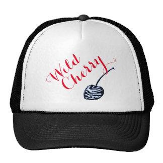 Chapéu do camionista da cereja selvagem boné