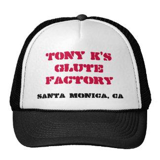 Chapéu do camionista da fábrica de Glute Boné