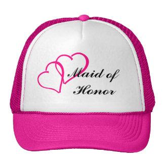 Chapéu do camionista da madrinha de casamento boné