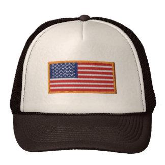 Chapéu do camionista da malha da imagem do remendo bone