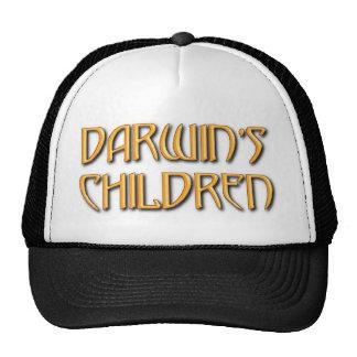 Chapéu do camionista das crianças de Darwin Boné